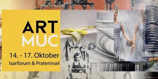 "ARTMUC OKTOBER OCTOBER ""=""! MÜNCHEN MUNICH ART EXHIBITION ISARFORUM SUSANNA LADDA DREAM TREES FLOWER SHOWERS"