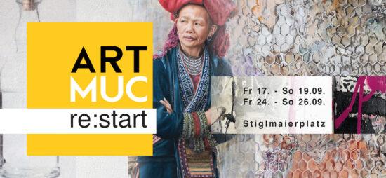 ARTMUC re:start 17-19 SEPTEMBER 2021 SUSANNA LADDA MÜNCHEN MUNICH GERMANY DEUTSCHLAND KUNSTMESSE