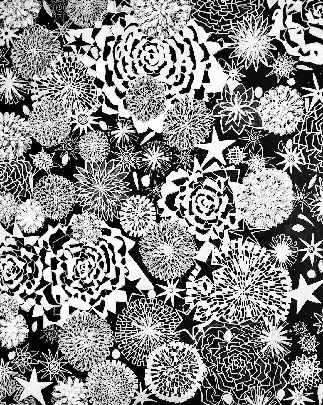 cosmic GARDENS SUSANNA LADDA GALERIE STARNBERGER SEE ART