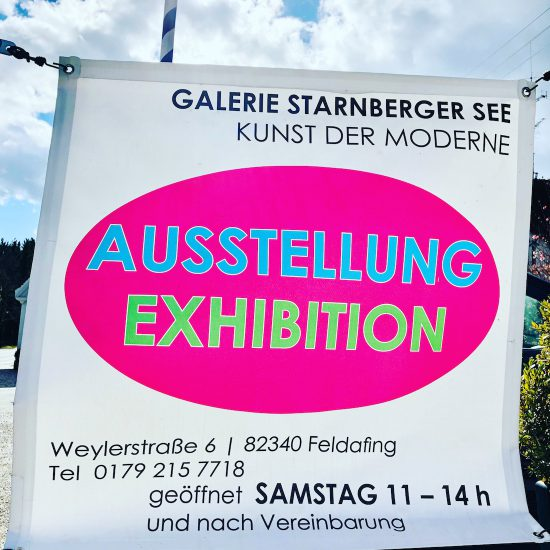 REOPENING AUSSTELLUNG EXHIBITION ART KUNST SUSANNA LADDA GALERIE STARNBERGER SEE