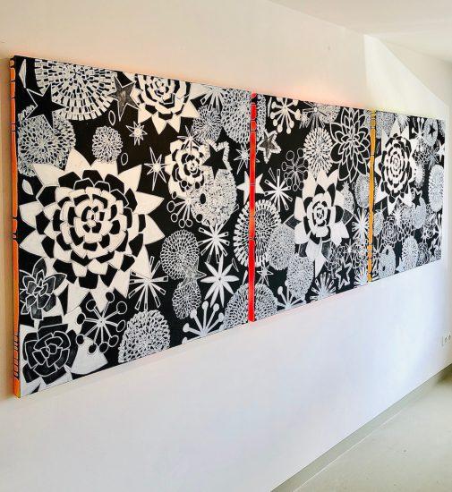 REOPENING AUSSTELLUNG EXHIBITION ART KUNST SUSANNA LADDA GALERIE STARNBERGER SEE MAY 02 2020